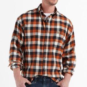 NWT - Realtree Men's Texas Orange Flannel Shirt